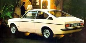 Versão interessante e desconhecida entre nós era o cupê fastback, que serviu de base para o esportivo GT/E